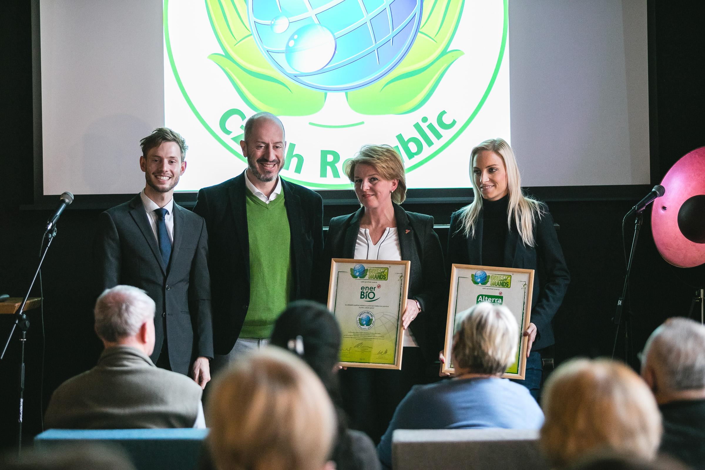 Alterra & enerBiO- GREEN BRANDS Czech Republic 2019/2020