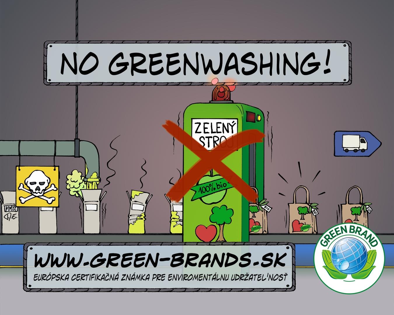 Žiadny Greenwashing!